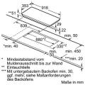 Bosch PXX275FC1E Flex-Induktionskochfeld Glaskeramik