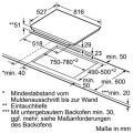 Bosch PXY875DC1E Induktionskochfeld Glaskeramik