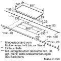 Neff TBT4040N / T40BT40N0 Induktionskochfeld