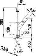 Blanco 518300 Armatur SILGRANIT®-Look