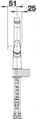 Blanco Avona-S 521277 Armatur Hochdruck