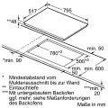 Bosch HBD672CS80 Elektro-Einbaubackofen Set mit Glaskeramikkochfeld/ Backofen Energieeffizienzklasse A