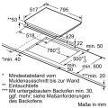 Neff XB18I Elektro-Einbaubackofen Set mit Induktionskochfeld/ Backofen Energieeffizienzklasse A