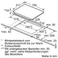 Neff XB48I Elektro-Einbaubackofen Set mit Induktionskochfeld/ Backofen Energieeffizienzklasse A