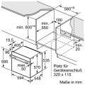 Bosch HBA533BS1 Elektro-Einbaubackofen/ Energieeffizienzklasse A