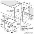 Bosch HBA530BR1 Elektro-Einbaubackofen/ Energieeffizienzklasse A