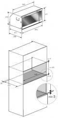 Oranier EBG9896 989610 Multifunktions-Backofen/ Energieeffizienzklasse A