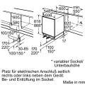 Siemens GU15DA55 Unterbau-Gefrierschrank iQ500/ Energieeffizienzklasse A+