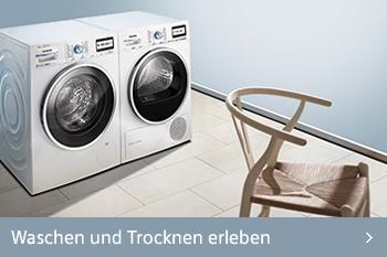 Siemens waschen und trocknen